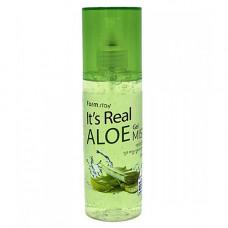 FarmStay It's real aloe gel mist,120мл Гель спрей для лица с экстрактом алоэ