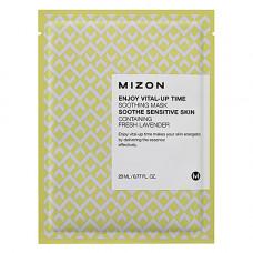 Mizon Enjoy vital up time soothing mask, 30мл Маска для лица тканевая успокаивающая