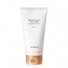 ElishaCoy Premium gold collagen cleanser, 150мл Пенка очищающая с коллагеном