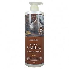 Deoproce Rinse-black garlic intensive energy, 1000мл Бальзам для волос чёрный чеснок