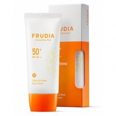 Frudia Tone up base sun cream SPF50+ PA+++, 50мл Крем-праймер солнцезащитный с жемчужной пудрой