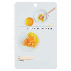 Eunyul Honey daily care sheet mask, 22мл Маска тканевая для лица с экстрактом меда