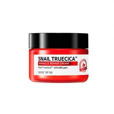 Some By Mi Snail truecica miracle repair cream, 60мл Крем с муцином чёрной улитки