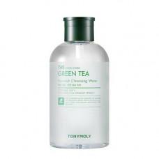 Tony Moly The chok chok green tea cleansing water, 800мл Вода мицеллярная с зеленым чаем