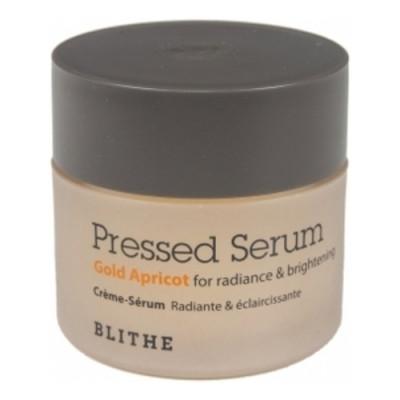 Blithe Pressed serum gold apricot, 20мл Сыворотка спресованная для сияния кожи лица абрикос