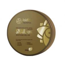AsiaKiss Soothing gel snail, 300мл Гель для лица и тела увлажняющий с муцином улитки