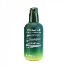 FarmStay Real avocado nutrition oil serum, 100мл Сыворотка питательная с маслом авокадо