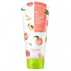 Frudia My orchard mochi cleansing foam, 120мл Пенка моти очищающая с персиком