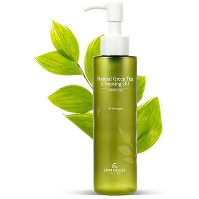 The Skin House Natural green tea cleansing oil, 150мл Масло гидрофильное с зелёным чаем
