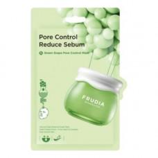Frudia Green grape pore control mask, 20мл Маска тканевая для лица с зеленым виноградом