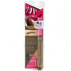 Koji Honpo triangle eyebrow, 20г Карандаш для бровей влагостойкий цвет мокко
