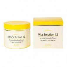 Jigott Vita solution 12 synergy ampoule cream, 100мл Крем для лица энергетический