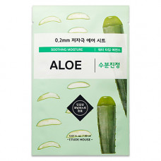 Etude House Therapy air mask aloe, 20мл Маска тканевая с экстрактом алоэ 0.2