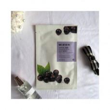 Mizon Joyful time essence mask acai berry, 23г Маска тканевая с экстрактом ягод асаи