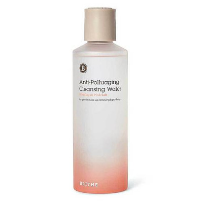 Blithe Anti-polluaging himalayan pink salt cleansing water, 250мл Вода очищающая
