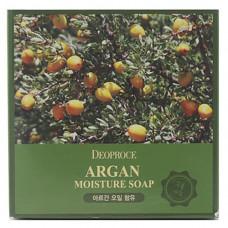 Deoproce Soap argan, 100г Мыло с аргановым маслом