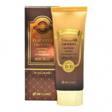3W Clinic Premium placenta sun BB cream, 70мл BBкрем для лица с плацентой солнцезащитный