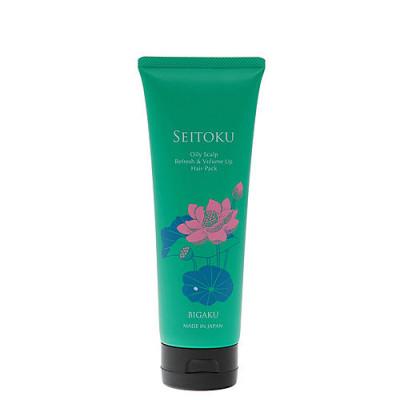 Bigaku Oily scalp refresh&volume up hair pack, 250г Маска для ухода за жирной кожей головы