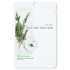 Eunyul Tea tree daily care sheet mask, 22г Маска тканевая для лица с экстрактом чайного дерева
