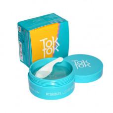 TokTok Hydrogel tone up eye patch, 60шт Патчи гидрогелевые тонизирующие
