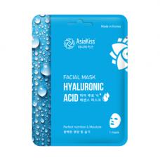 AsiaKiss Hyaluronic essence facial mask, 25г Маска тканевая для лица с гиалуроновой кислотой