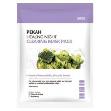 Pekah Healing night clearing mask pack, 5шт*25мл(упаковка) Маска вечерняя очищающая