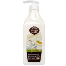 KeraSys Shower mate goal milk, 550мл Гель для душа «козье молоко»