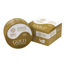 AsiaKiss Gold premium hydrogel eye patch, 60шт Патчи для глаз гидрогелевые с экстрактом золота