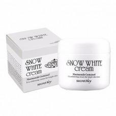 Secret Key Snow white cream, 50мл Крем с активным отбеливающим действием