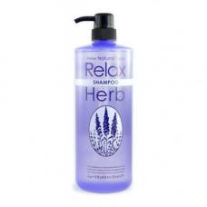JunLove New relax herb shampoo, 1000мл Шампунь для волос растительный с маслом лаванды