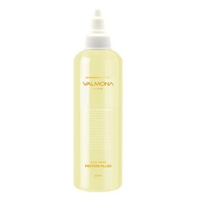 Valmona Yolk-mayo protein filled, 200мл Маска филлер для волос с экстрактом яичного желтка и меда