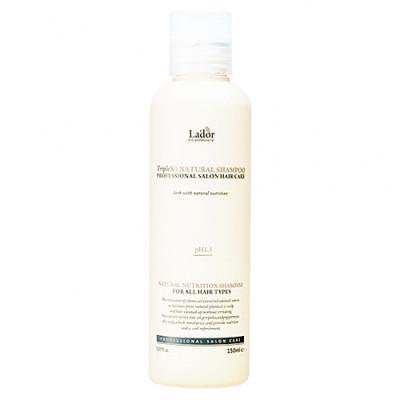 Lador PH6.0 Triplex natural shampoo, 150мл Шампунь с натуральными ингредиентами