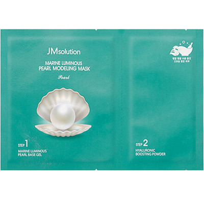 JMsolution Marine luminous pearl modeling mask, 55г Маска альгинатная с экстрактом жемчуга