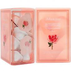 JMsolution Luminious flower firming powder cleanser rose, 30*0,35г Энзимная пудра с розовой водой