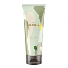 Naturia Creamy oil salt scrub green tea, 250г Скраб для тела зеленый чай