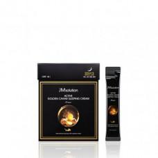 JMsolution Active golden caviar sleeping cream prime, 4мл*30шт Маска ночная с золотом и икрой