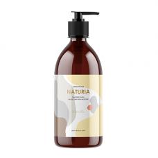 Naturia Creamy milk body wash-so vanilla, 750мл Гель для душа ваниль