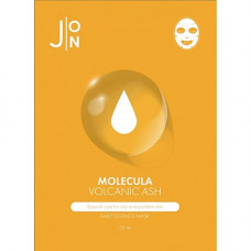 J:on Molecula volcanic ash daily essence mask, 23мл Маска для лица тканевая с вулканическим пеплом