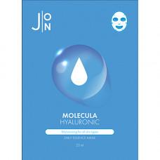 J:on Molecula hyaluronic daily essence mask, 23мл Маска для лица тканевая с гиалуроновой кислотой