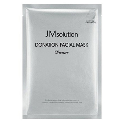 JMsolution Donation facial mask dream, 37мл Маска тканевая увлажняющая