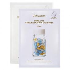 JMsolution Derma care ceramide moisture gauze mask, 30мл Маска тканевая с керамидами