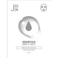J:on Molecula bird's nest daily essence mask, 23мл Маска для лица тканевая ласточкино гнездо