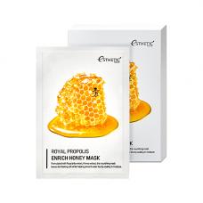 Esthetic House Royal propolis enrich honey mask, 25мл Маска тканевая мед и прополис