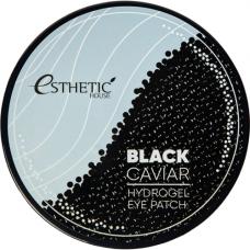 Esthetic House Black caviar hydrogel eye patch, 60шт Патчи гидрогелевые для глаз черная икра
