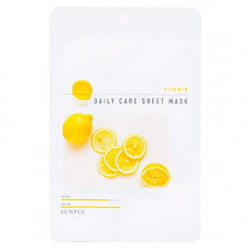 Eunyul Vitamin daily care sheet mask, 22г Маска тканевая для лица с витаминами