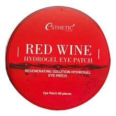 Esthetic House Red wine hydrogel eye patch, 60шт Патчи гидрогелевые с экстрактом красного вина