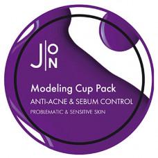 J:on Anti-acne & sebum control modeling pack, 18мл Маска альгинатная антиакне и себум контроль