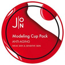 J:on Anti-aging modeling pack, 18мл Маска альгинатная антивозрастная
