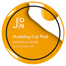 J:on Smooth & shine modeling pack, 18мл Маска альгинатная гладкость и сияние
