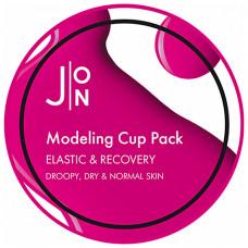 J:on Elastic & recovery modeling pack, 18мл Маска альгинатная эластичность и восстановление